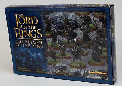 "Games Workshop Lord of the Rings ""Mordor Orcs"" figure set"