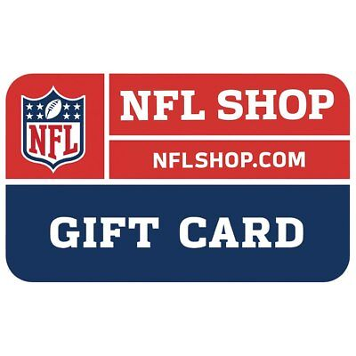 2 $25 ($50) NFLShop E-Gift Card/Certificates ~ Delivery Via US Mail Only!