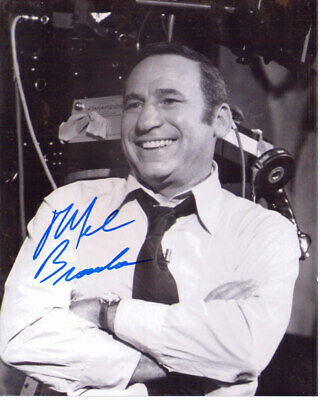 Mel Brooks Director Comedian Spaceballs Signed 8X10 Photo With Coa