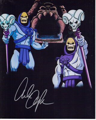 Alan Oppenheimer Signed 8X10 Skeletor Masters Of The Universe Photo With Coa