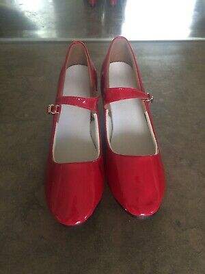 Red Patent Dance Shoes