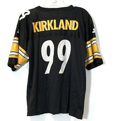 fdc8763cb Starter Levon Kirkland Size L Pittsburgh Steelers Football Jersey Youth  Vintage