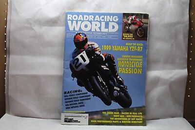Road Racing Mundo & Moto Tecnología Revistas Junio 1999 Volume 9 No.6