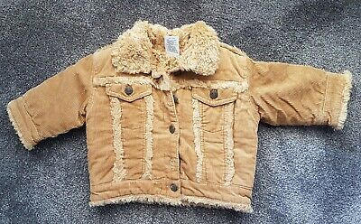 Boys Tan Coat / Jacket Size 00 EUC Target Very Warm