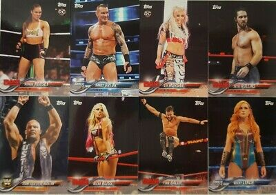 2018 Topps WWE Then Now Forever Wrestling Card Set of 100 # 101 - 200