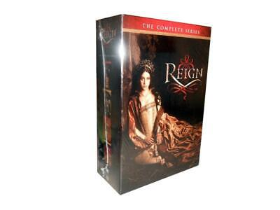 Reign: The Complete Series Seasons 1-4 (DVD Set) 1 2 3 4 Factory Sealed ! New US