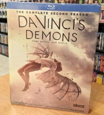 Da Vincis Demons: The Complete Second Season (Blu-ray Disc, 2015, 3-Disc Set)