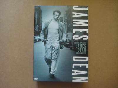 THE COMPLETE JAMES DEAN COLLECTION - 3 Movies - USA 6 x DVD BOX SET - NEAR MINT