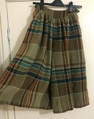 Ladies CACHAREL Vintage Pure New Lined Culottes. Size 36 (6-8). Rrp $490