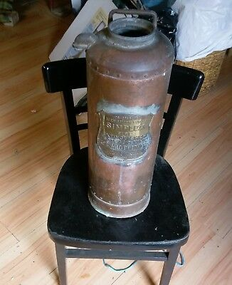Copper Fire Extinguisher with Shield