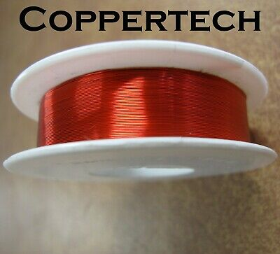 Enamelled Copper Wire, SMALL Dia 0.05 to 0.32 mm, Solderable, Wide range