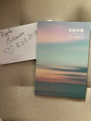 BTS 花樣年華 Special Notes Book BTS Korea Ver. The Most Beautiful Moment In Life