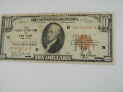 Federal Reserve note $20 1934-C  Bank of Chicago