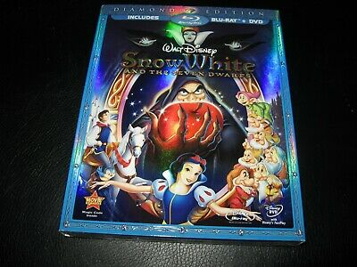 Snow White and the seven dwarfs Blu-ray DVD Diamond New and Sealed Disney