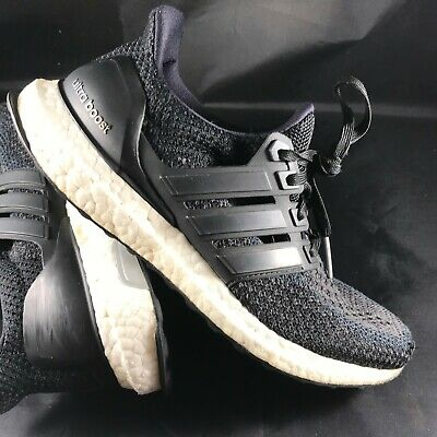 347dc515b Adidas Originals Ultra Boost 2.0 Core Black Running Shoes BB3910 Women Size  7.5