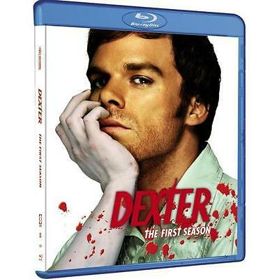 Dexter -The Complete First (1st) Season (Blu-ray Disc, 2009, 3-Disc Set) NEW