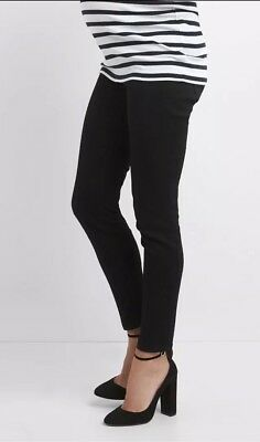 26af9eb0a6 GAP MATERNITY INSERT Panel True Skinny Jeans Size 2- White- NWT ...