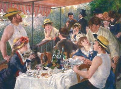 Renoir Fabric Panel Luncheon of the Boating Party  112x60 cm DIGITAL Kaufman