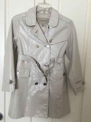Burberry Children unisex Double Breasted Raincoat Jacket Size 8Y / 128cm