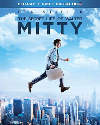 The Secret Life of Walter Mitty (Blu-ray/DVD, 2014, 2-Disc Set, Includes Digita…