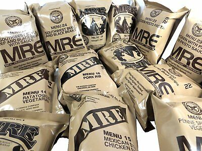 Military MRE US ARMY COMBAT  ARMED FORCES
