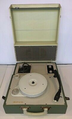 Vintage AWA 'Radiola' 50s/60s RECORD PLAYER, Portable,