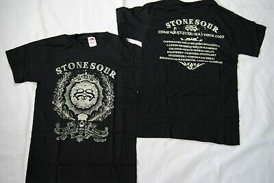 Stone Sour Made Of Scars Crown Come Whatever May Tour 2007 T Shirt New Official