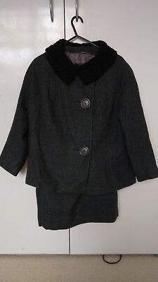 Vintage Pure Wool 50's/60's Jacket & Skirt Suit
