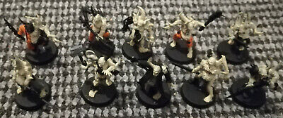 Warhammer 40K 40000 Chaos Space Marines Nurgle 10 Poxwalkers Death Guard Used