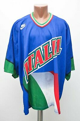 ITALY NATIONAL TEAM 2000's ICE HOCKEY HOME SHIRT JERSEY NIKE SIZE XL
