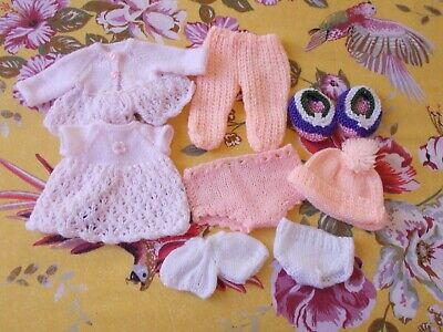 Vintage Knitted Clothing for Dolls/Bears - SILLY PRICE TO CLEAR XXX