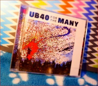 """UB40 Release 15 March 2019 New Fast Freepost """"For the Many"""" CD UK top 20 album"""