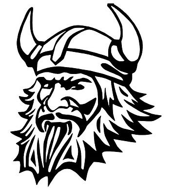 Viking Vinyl Car Decal Sticker