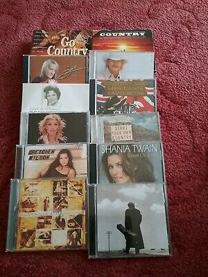 Joblot of Country music Cds (various artists & compilations) list in description