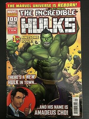 THE INCREDIBLE HULKS #1  Panini Comics REBORN 1st Awesome Issue