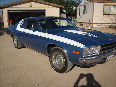 1973 Plymouth Road Runner  1973 Plymouth Roadrunner 4 Speed Six Pack
