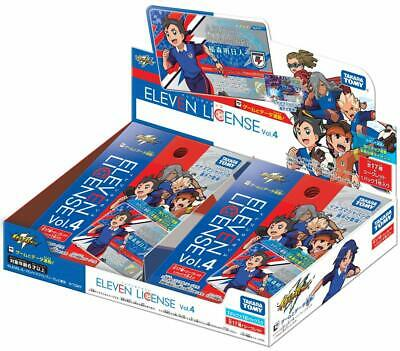 Takara Tomy Inazuma Eleven Eleven license Vol.4 BOX JAPAN OFFICIAL IMPORT