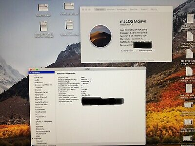 "Apple iMac 27"" Retina 5K Intel Core i5 3,4 GHz, 8GB 1TB Desktop PC von 2018"