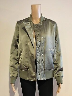 cf571e4cf NWT ABERCROMBIE AND Fitch Reversible Bomber Jacket, Medium - $65.00 ...