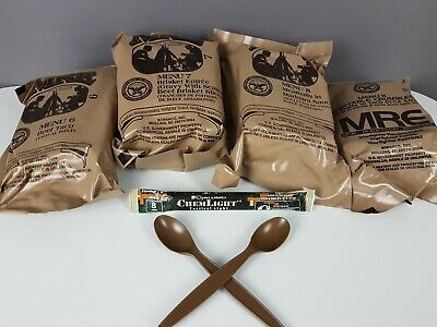 MRE 4er Pack * Meal Ready to Eat * US Army Outdoor Survival Tactical