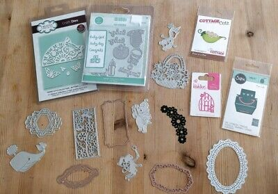 CLEAR OUT bundle /job lot metal cutting first edition creative expression sizzix