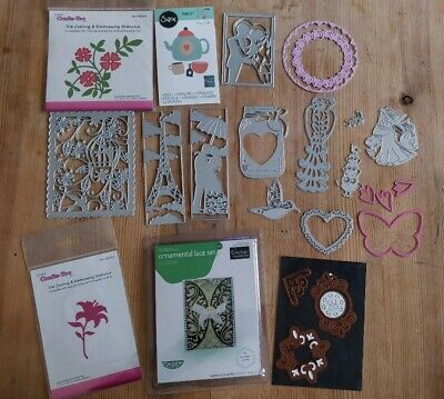 CLEAR OUT bundle /job lot metal cutting couture creations crafts too sizzix