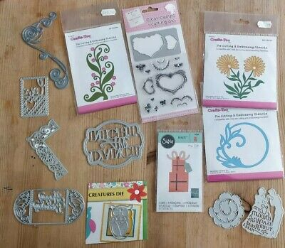 CLEAR OUT bundle /job lot metal cutting crafts too  , sizzix