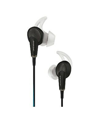 Bose QuietComfort Noise Cancelling QC20 Acoustic InEar Headphones for iPad Black
