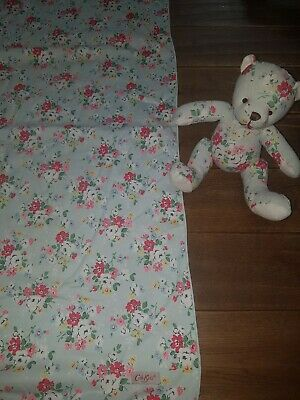Cath Kidston Floral Baby Blanket or towel And Teddy New Never Used