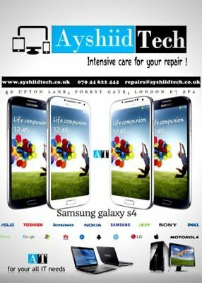 Samsung Galaxy S4 Front Screen Gorilla Glass Repair/replacement Service