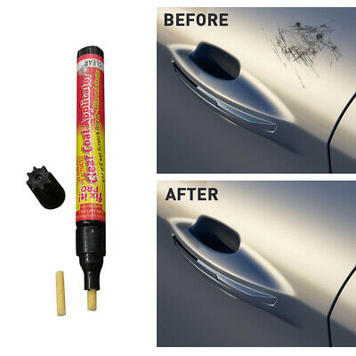 2/4pcs AutoPro Scratch Eraser Repair Pen Non Toxic Car Clear Coat Applicator