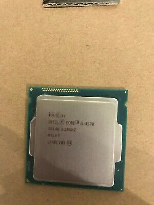Processeur Intel Core I5 4570 3,20 GHz Turbo 3,60 GHz SR14E quad core 1150
