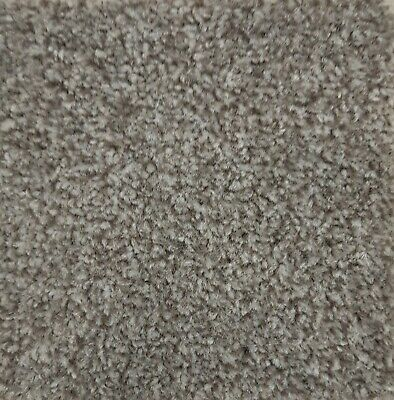Fairway Stain Free Carpet, Dark Hessian, Built in Underlay, Select Your Size,