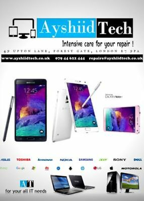 SAMSUNG GALAXY Note 4 FRONT SCREEN GORILLA GLASS REPAIR/REPLACEMENT SERVICE